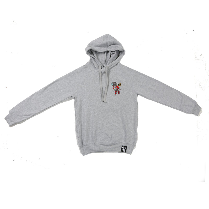 Accomplished Not Cocky Grey Hoodie