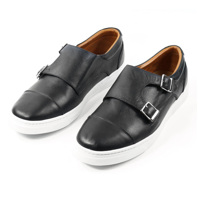 Gala Double Monk Strap Sneakers