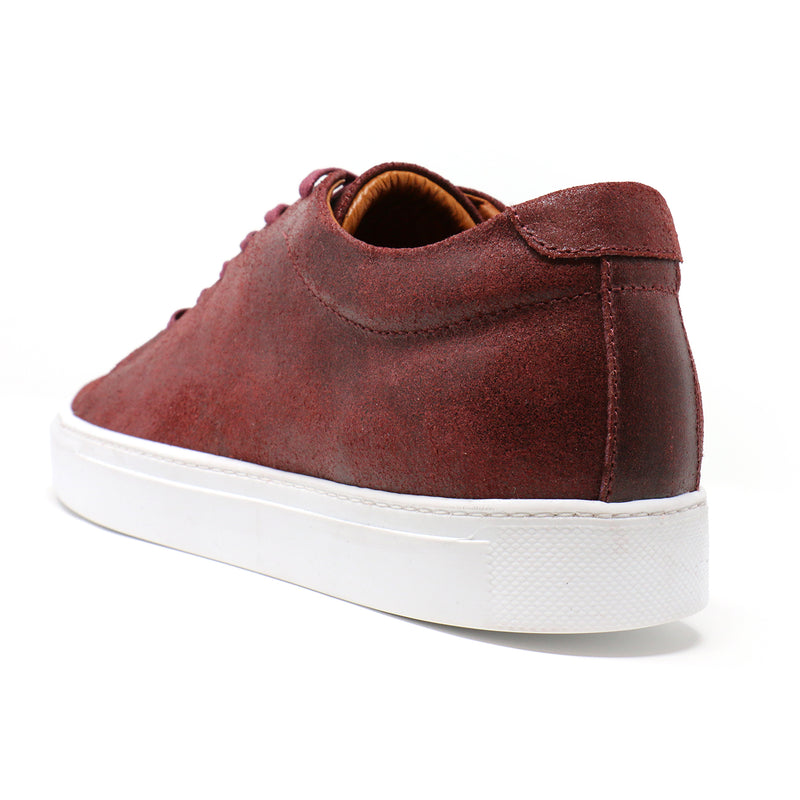 Vino Distressed Low-Top Sneakers