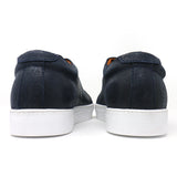 Naval Distressed Low-Top Sneakers