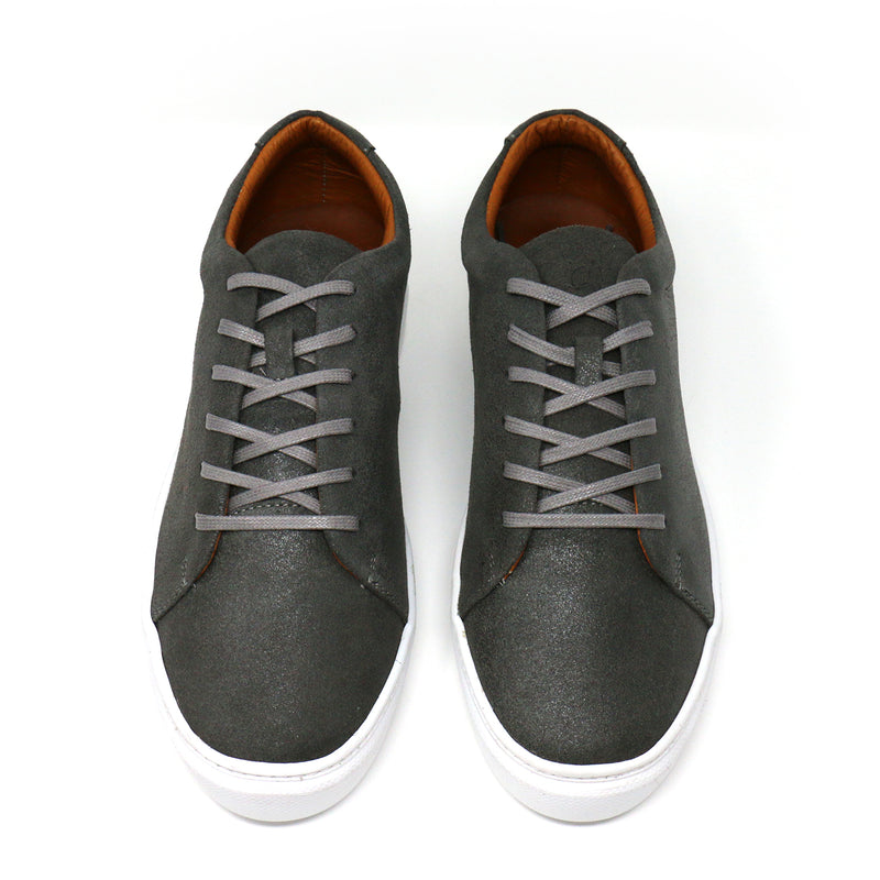 Humo Distressed Low-Top Sneakers