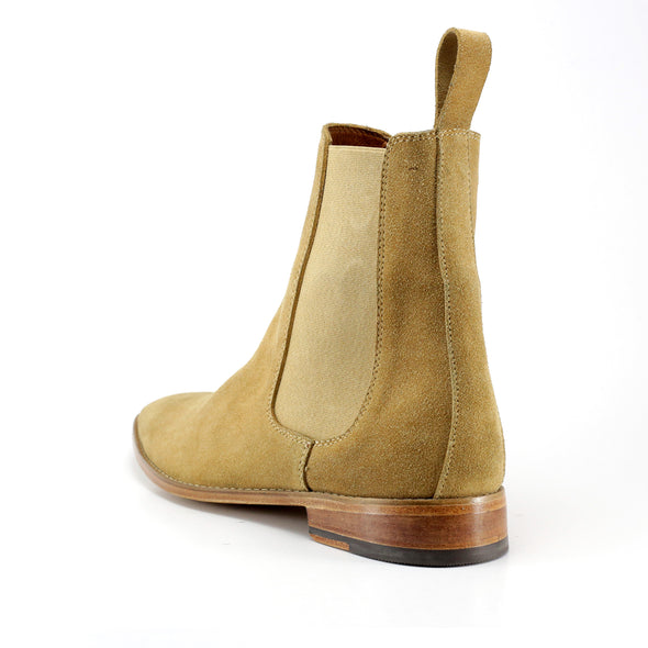 Sand Chelsea Boot