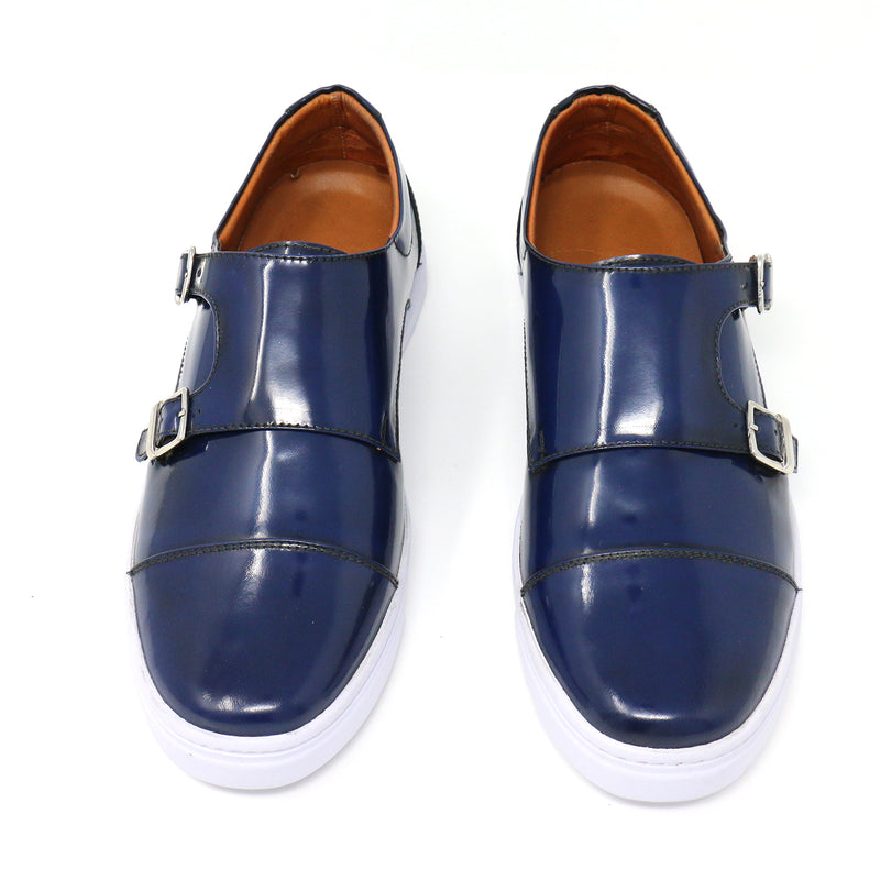 Midnight Double Monk Strap Sneakers