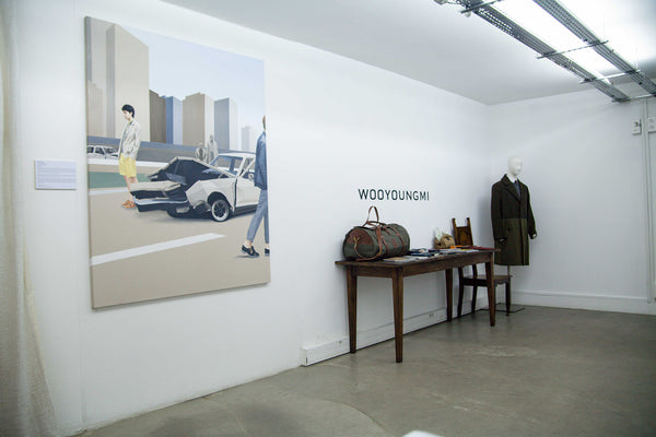 Lee Song Wooyoungmi ManMade pop-up shop, concept by christopher vaughan