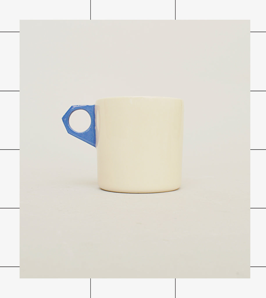 Gridware Coffee Can - White / Blue