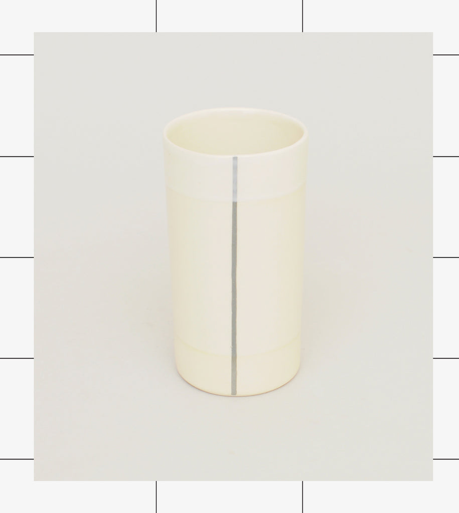 Gridware Small Vase - White