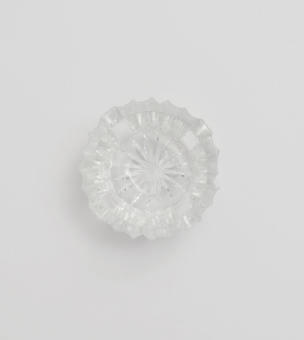 Cut-Crystal Ashtray