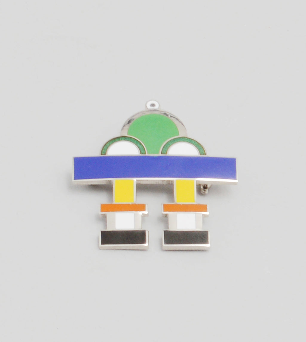 Trono Brooch by Ettore Sottsass