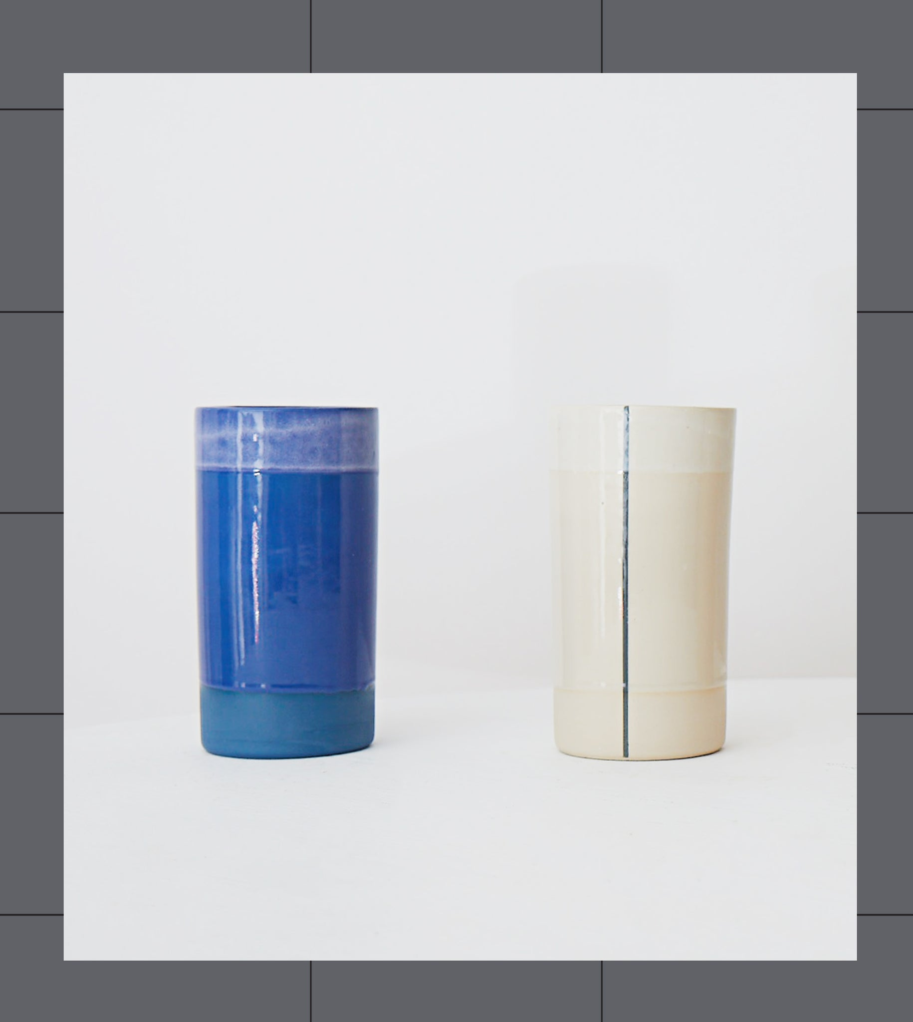 Gridware Small Vase - Blue