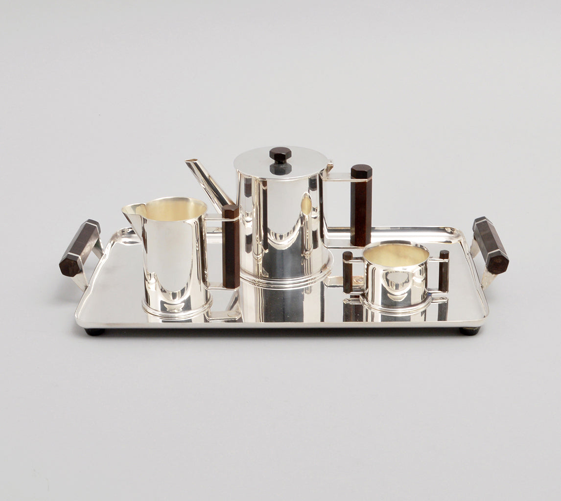 Trench Art Tea & Coffee Service