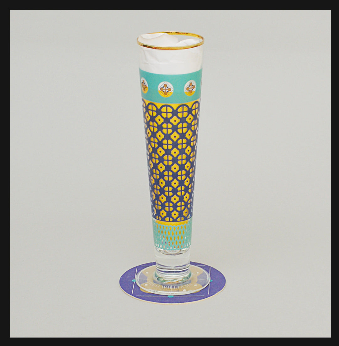 Pair of Pilsner Glasses