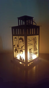 Medium Doctor Who BBC Series Inspired Lantern