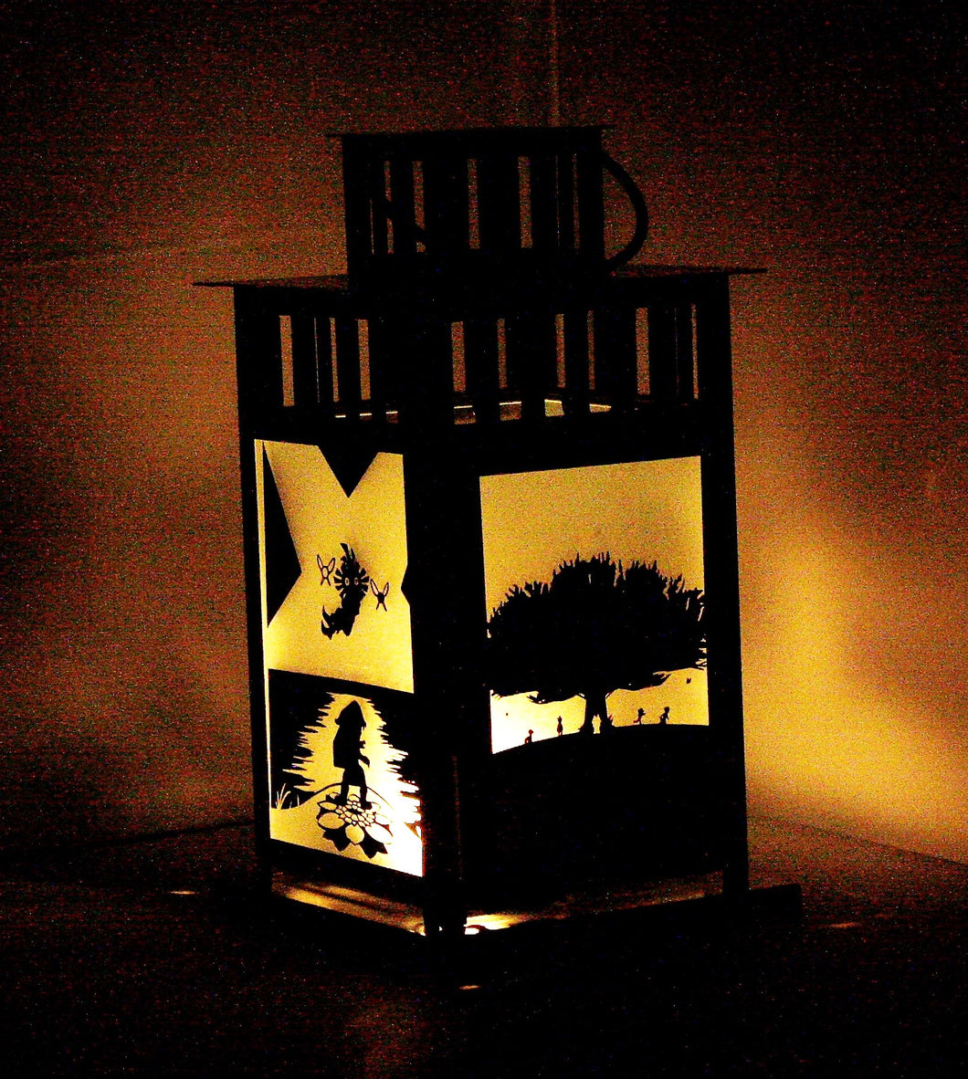 Legend of Zelda Majora's Mask Skullkid Inspired Lantern