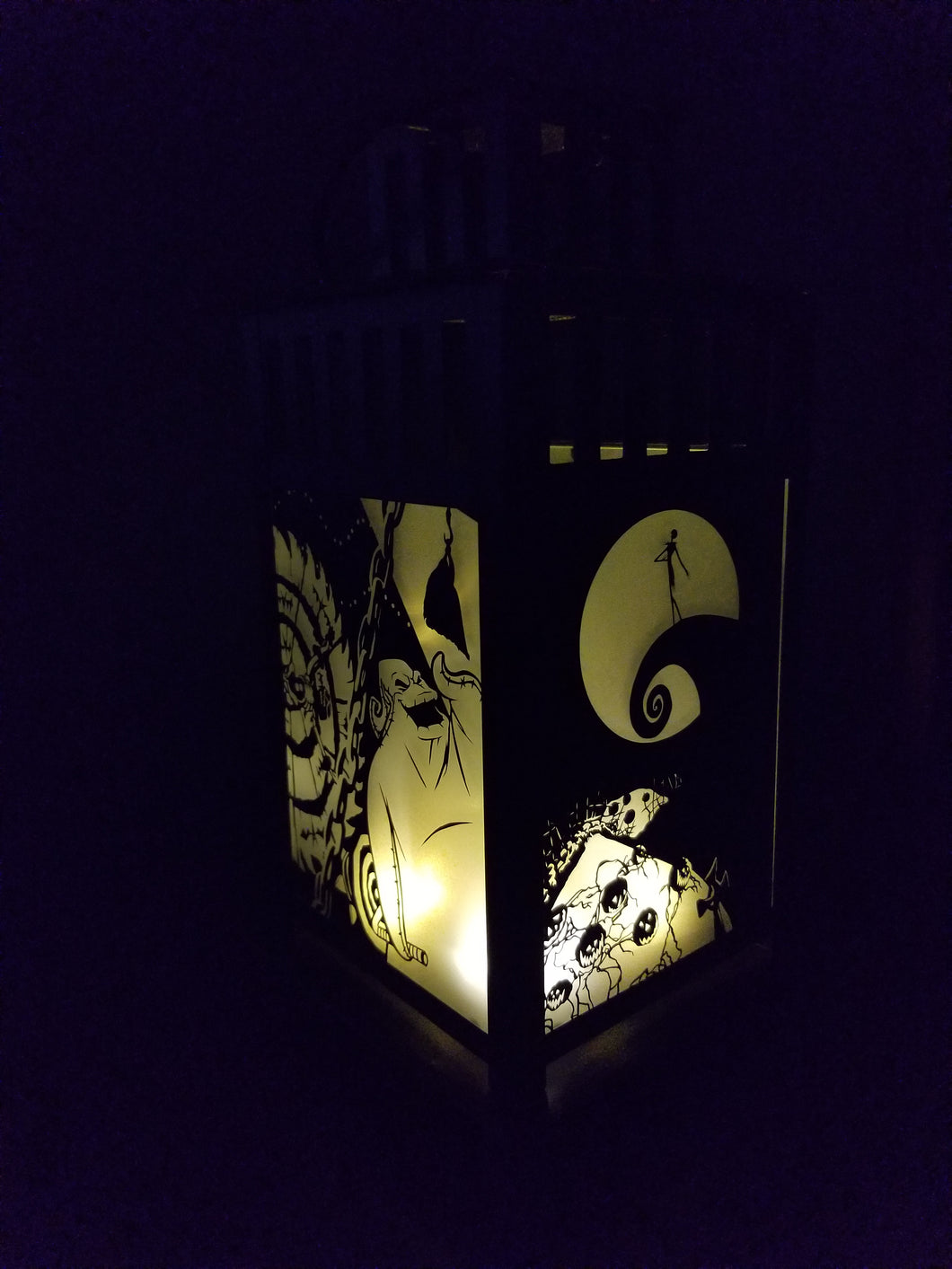 Nightmare Before Christmas Inspired Lantern