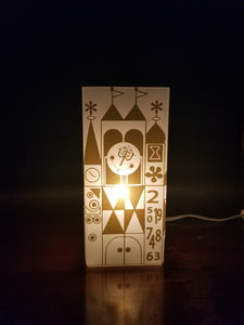 It's A Small World Inspired Lamp
