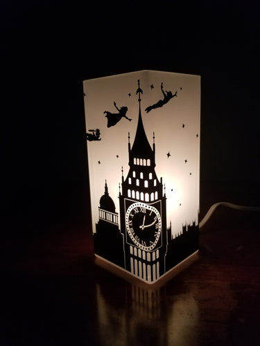 Peter Pan/Peter Pan's Flight Inspired Electric Lamp