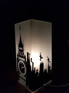 Mary Poppins Inspired Lamp