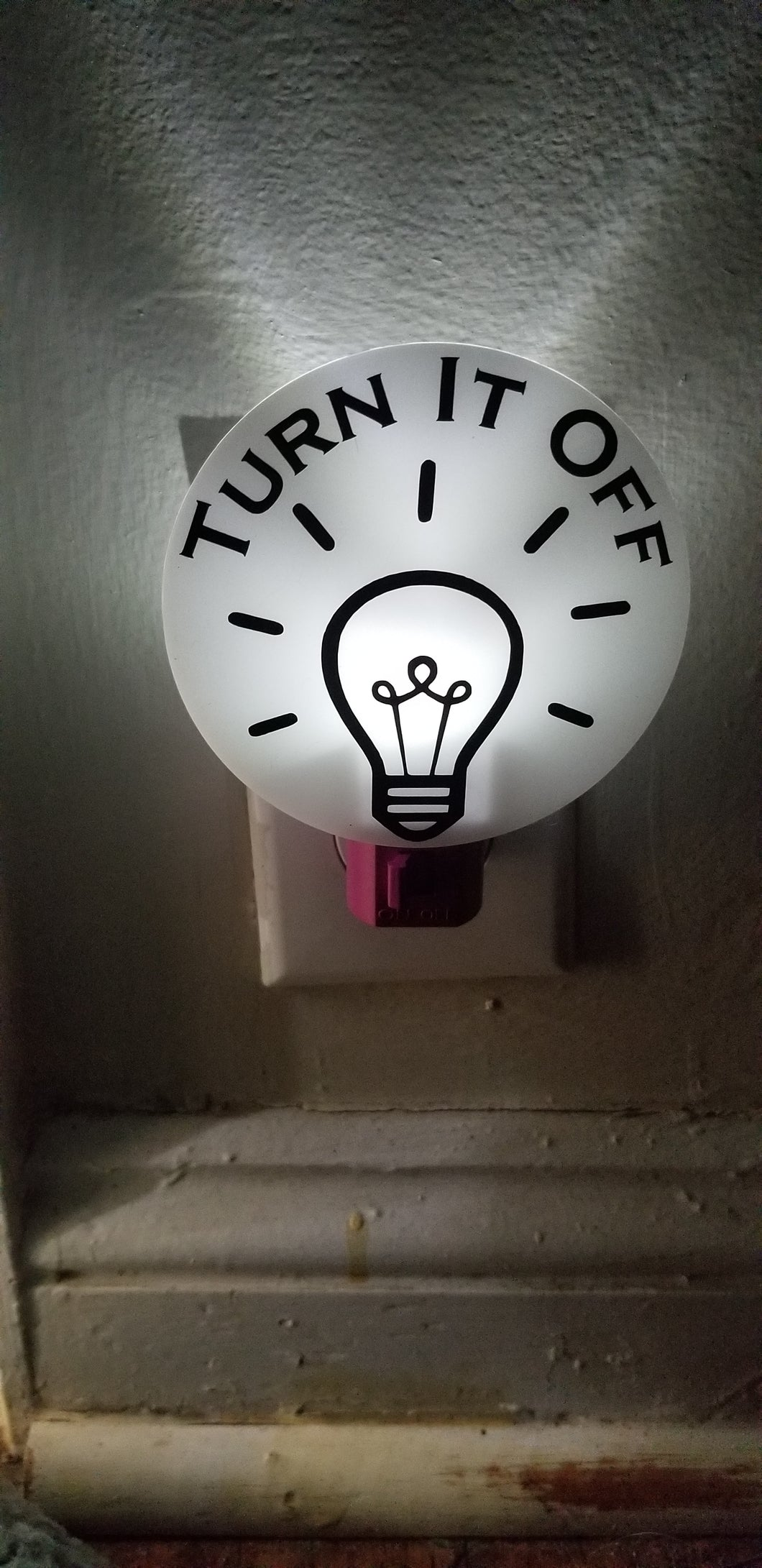 Book of Mormon Musical Inspired Turn It Off Night Light
