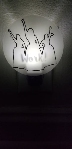 Hamilton Musical Inspired Work Night Light