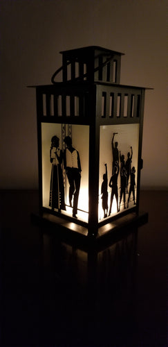 Newsies Musical Inspired Lantern