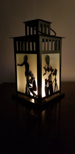 RENT Musical Inspired Lantern