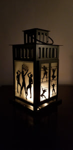 Chicago Musical Inspired Lantern