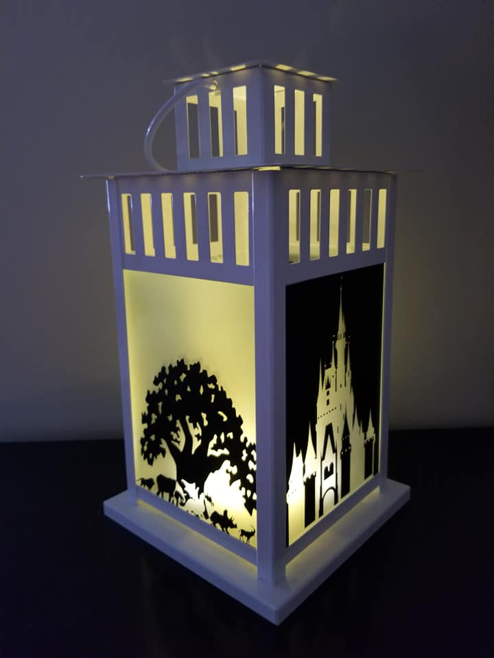 Walt Disney World Parks Inspired Lantern (Candle or Electri