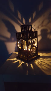 Wicked Musical Inspired Wall Projection Lantern
