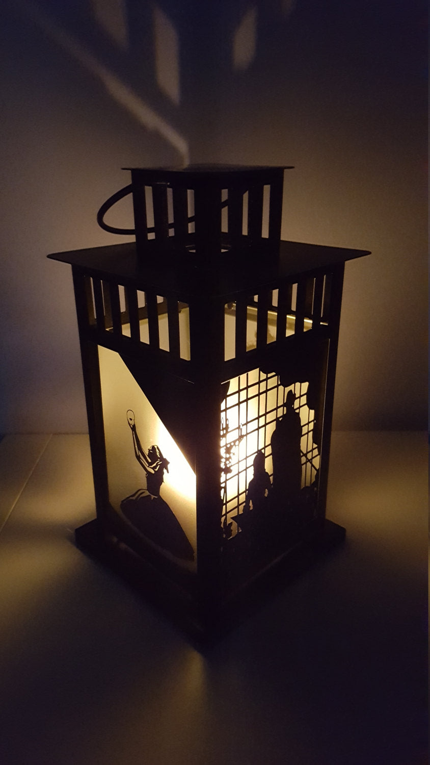 Phantom of the Opera Musical Inspired Decorative Lantern