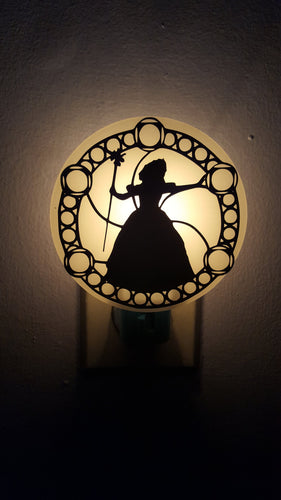 Wicked Broadway Musical Glinda Galinda Inspired Night Light