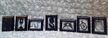 "Harry Potter Horcrux Inspired Vinyl Float 3x5"" Frame Set Hogwarts Deathly Hallows"