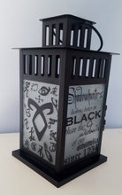 MEDIUM Shadowhunter Inspired Runes Nephilim Lantern Frosted or Clear Glass