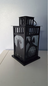 Wicked Musical Inspired Decorative Lantern