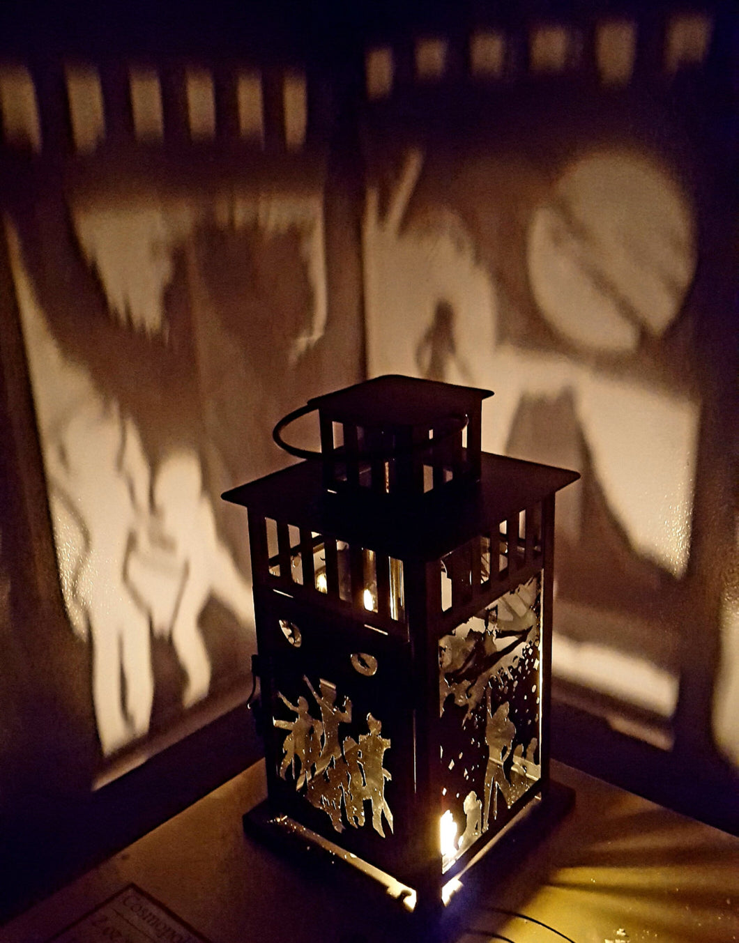 CATS Musical Inspired Wall Projection Lantern