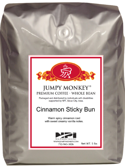 5 lb bag Cinnamon Sticky Bun