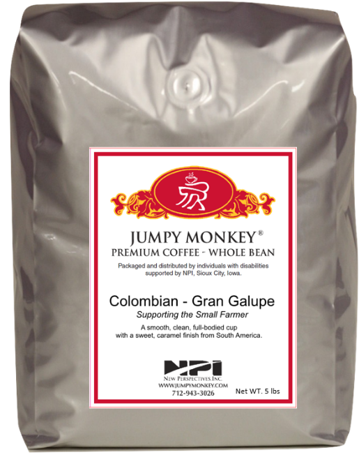 Colombian Gran Galupe - Full bodied cup