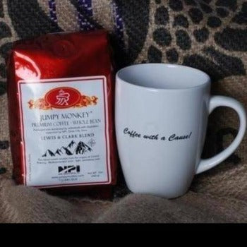 Coffee and a Mug - Jumpy Monkey® Coffee
