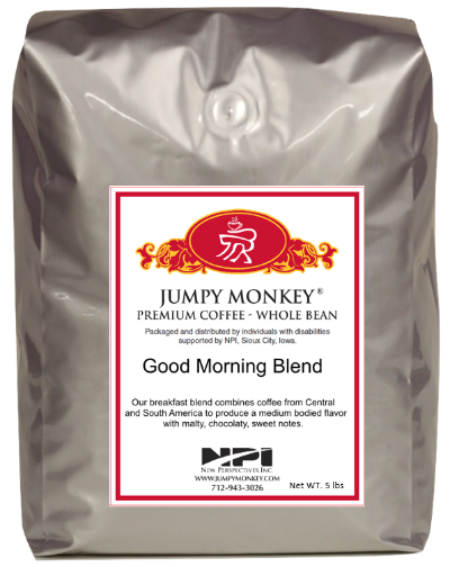 Good Morning Blend - medium body, sweet notes