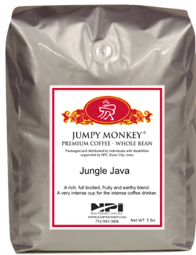 Jungle Java - full bodied, fruity, earthy