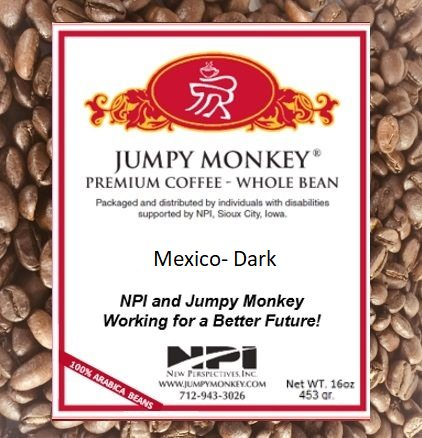 Mexico - Dark - Jumpy Monkey® Coffee
