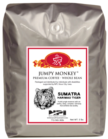 Sumatra - tropical, earthy, spicy