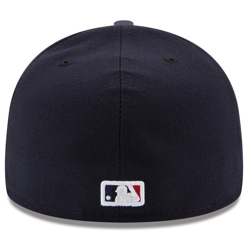 Cleveland Indians New Era Navy Road Authentic Collection On Field 59FIFTY Fitted Hat - Kurolabel Brand