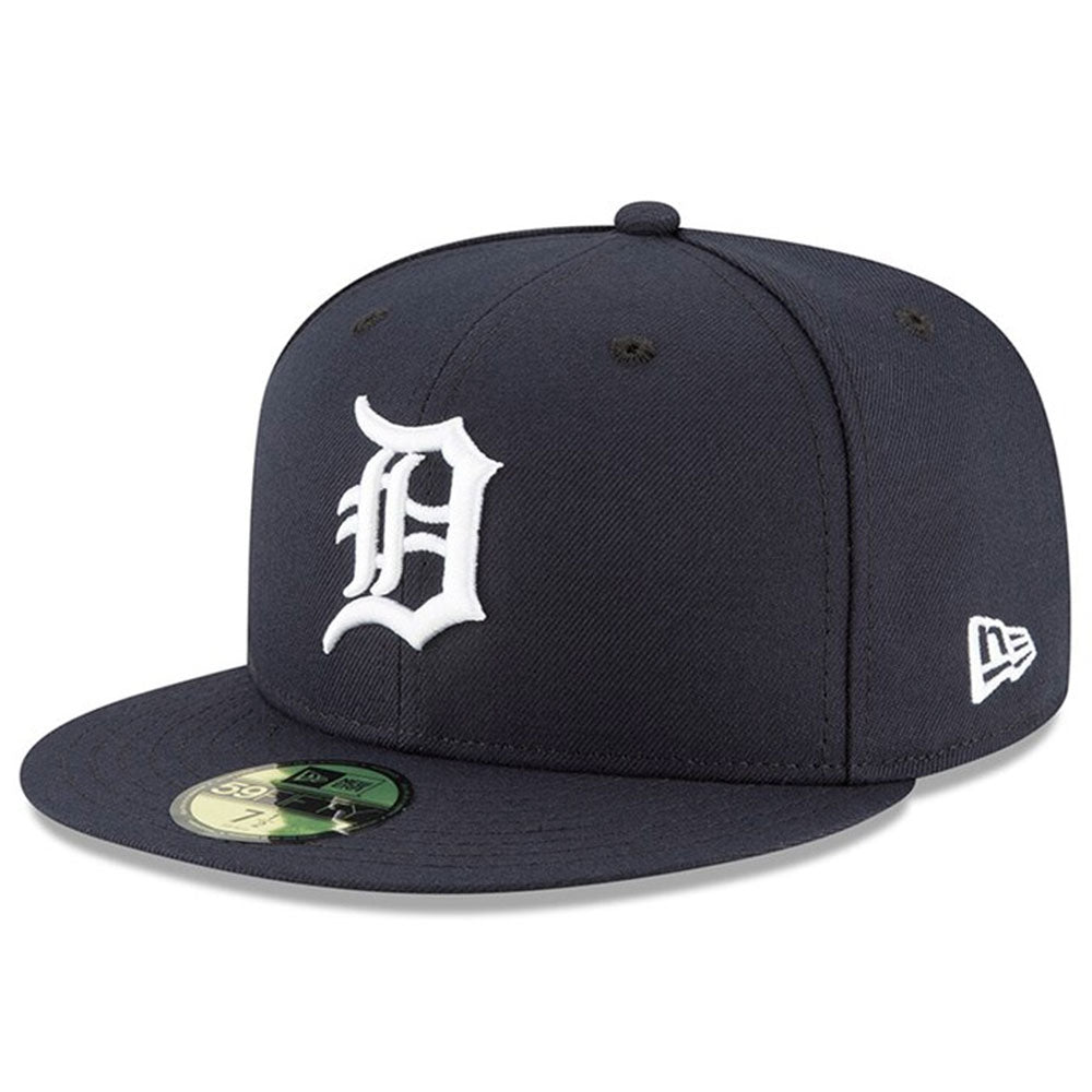 Detroit Tigers New Era Navy Authentic Collection Home On-Field 59FIFTY Fitted Hat - Kurolabel Brand
