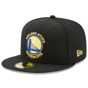 Golden State Warriors Team Color 59fifty Fitted-Black - Kurolabel Brand