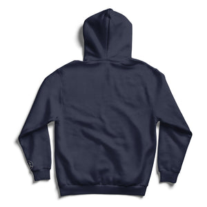 Circle Kurolabel Brand Graphic Hooded Fleece Sweatshirt - Kurolabel Brand