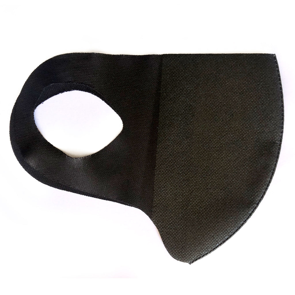 5Pcs Made in Korea Black KAIROS Antibacterial Filter Mask + Shipping - Kurolabel Brand