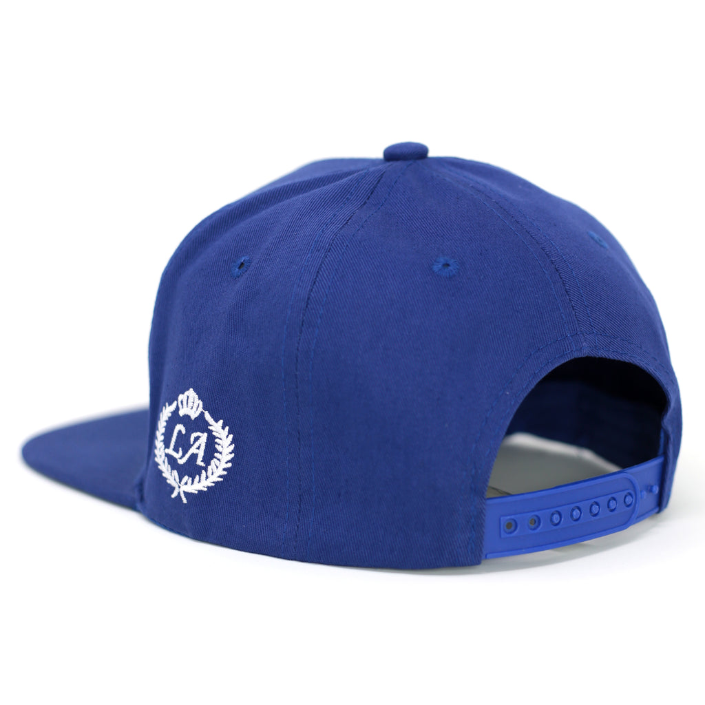 Los Angeles Patch Design Snapback Hat-Royal - Kurolabel Brand