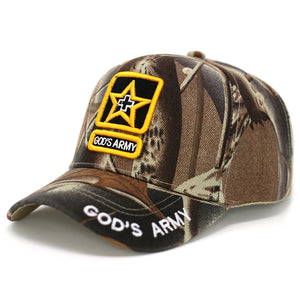 God's Army Design Baseball Cap - Kurolabel Brand