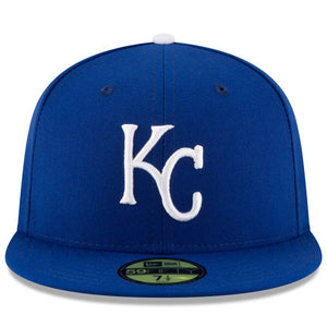 Kansas City Royals New Era Royal Game Authentic Collection On-Field 59FIFTY Fitted Hat - Kurolabel Brand