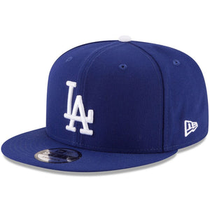 Los Angeles Dodgers New Era Navy Team Color 9FIFTY Snapback Hat - Kurolabel Brand